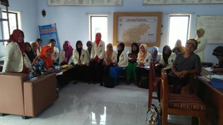 Desa Tempursari dapat Kunjungan dari KKN IKIP PGRI Jember